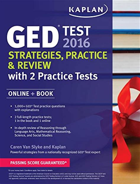 ged test sections kaplan ged test 2016 strategies practice and review