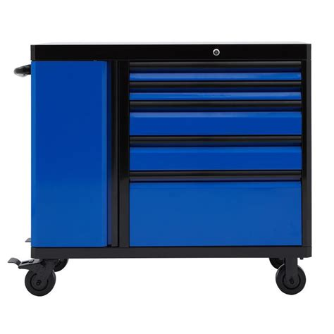 Kitchen Storage Cabinets With Drawers shop kobalt 3000 series 40 75 in x 49 in 5 drawer ball