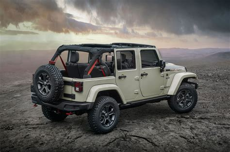 jeep wrangler army edition the 2017 wrangler rubicon recon edition military autosource