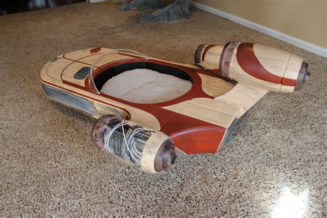 star wars dog bed star wars landspeeder is the best cat bed ever autoevolution