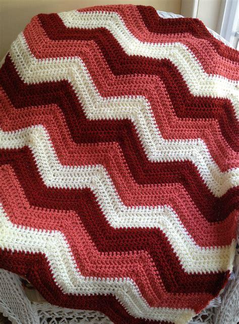 zig zag crochet baby pattern new chevron zig zag ripple baby blanket afghan wrap crochet