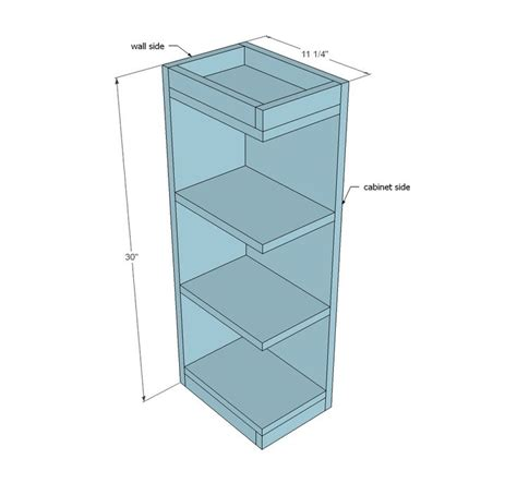 kitchen cabinet end shelf 1000 ideas about wall cabinets on pinterest bathroom