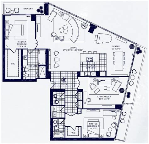 Floor Plan Los Angeles | maple leaf square condos los angeles model for sale
