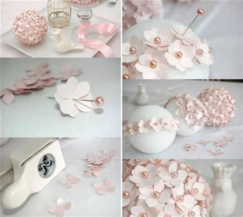 homemade flowers homemade christmas tree ornaments 20 easy diy ideas