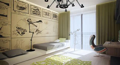 avant room avant garde apartments feature the lines and lighting visualized