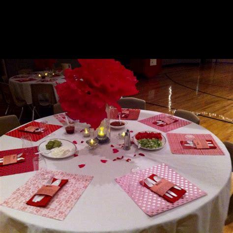 valentines table setting valentine dinner party pinterest