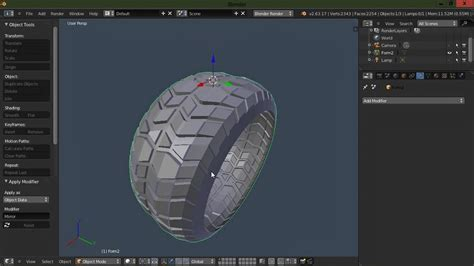 Blender Tutorial Tire | model a tire in blender 2 64 youtube