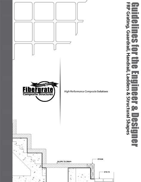 design guidelines composites design resources fibergrate composite structures