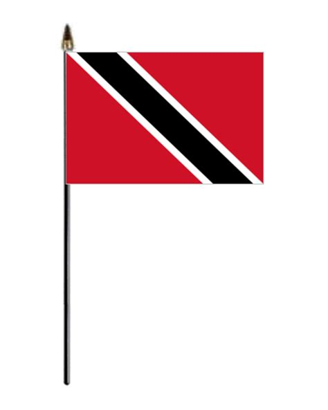 trinidad amp tobago country hand flag small