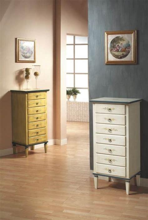 cassettiere torino cassettiera laccata e decorata a torino zl1345a