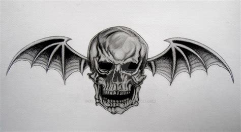 avenged sevenfold death bat by synsdeepinmyblood22 on