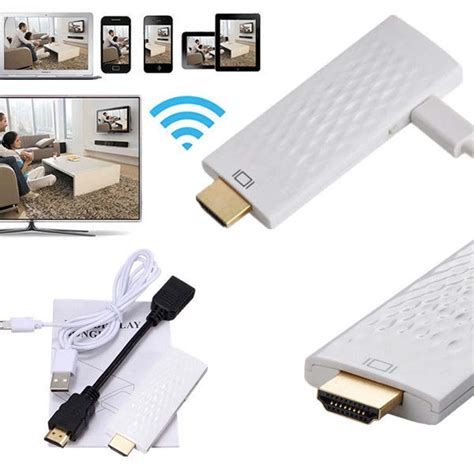 Wifi Display Dongle Wireless Wifi Display Dongle Hdmi Miracast Dlna Airplay For Iphone 6 Plus 5s In Tv Stick From