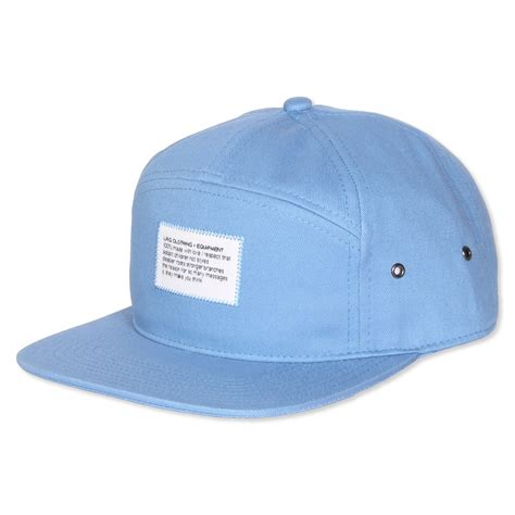 paramount hats lrg paramount back pale blue hats accessories