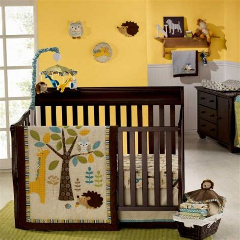 Forest Crib Bedding In The Forest 8 Baby Crib Bedding Set With Bumper By Graco B00a1198ro Nursery Bedding