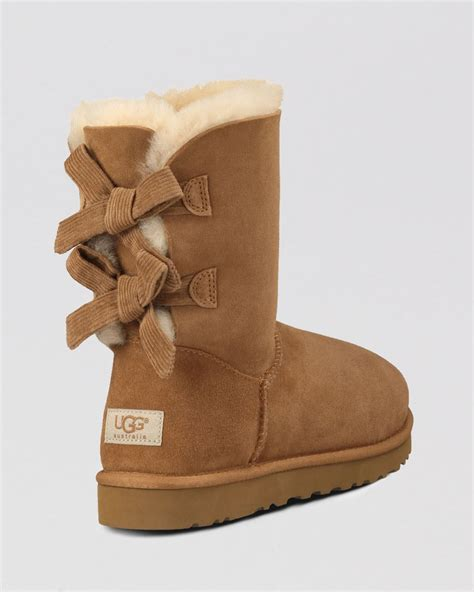 with ugg boots brown bailey bow uggs