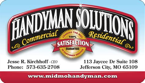 Handyman Gift Card - low cost company gift cards marketing sales contractor talk