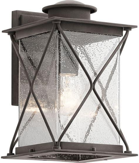 Kichler 49744wzcl16 Argyle Weathered Zinc Led Outdoor Wall Kichler Outdoor Led Lighting