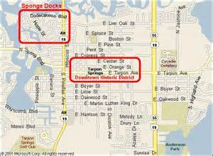 where is tarpon springs florida map tarpon springs florida home page