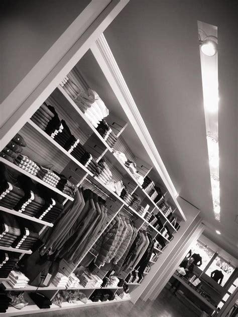 rossetti illuminazione illuminazione negozi abbigliamento allestimento visual