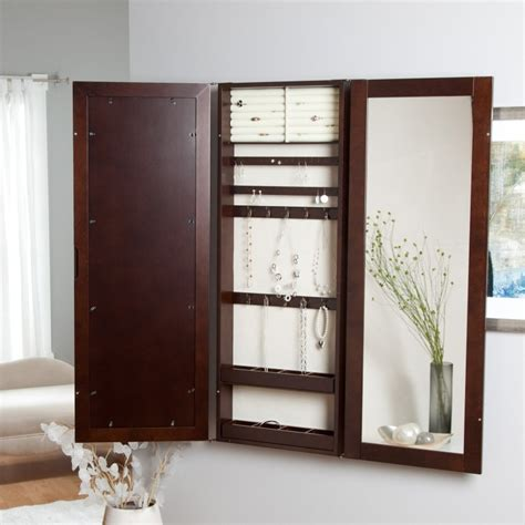 picture of wall mount jewelry armoire