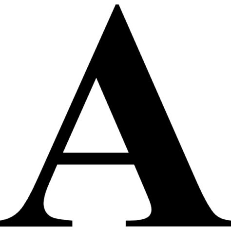 Letter Variants Letter A Text Variant Icons Free