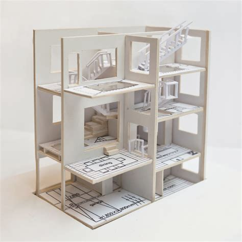 Haus H by H House By Sou Fujimoto Model Study Portfolio Of Xinya
