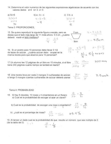 matematicas 3 vol 1 contestado instituto cumbres primero de secundaria matematicas 1