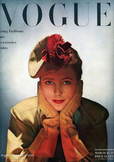 230 Vogue Covers History Of Fashion In Pictures by 336 Best Vogue Covers 1940s Photo Images On