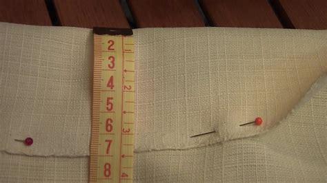 gardinenband zum bugeln vorhang selber n 228 hen anleitung