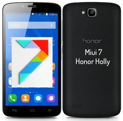 miui unofficial themes unofficial miui 7 ported lollipop rom for honor holly