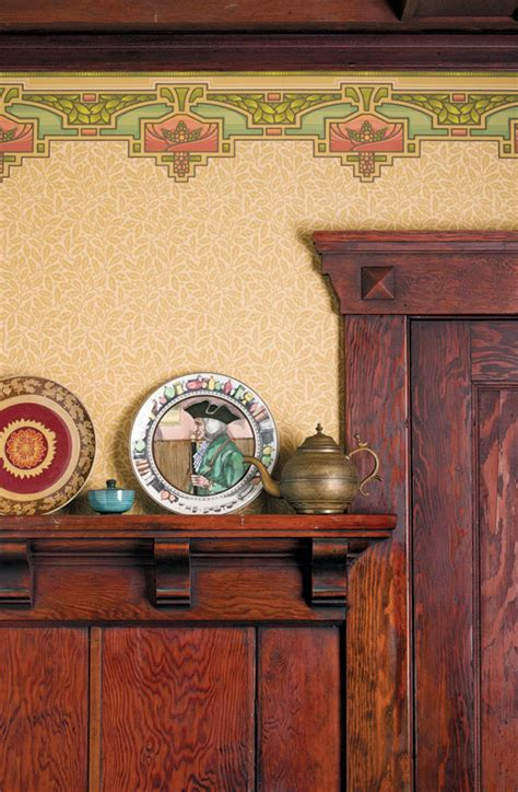 arts and crafts wallpaper borders how to choose wallpaper for an old house old house