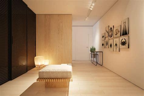 interiores de casas dise 241 o de interior que combina la madera y los colores