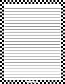 paper that you can write on printable writing paper with border clipart best