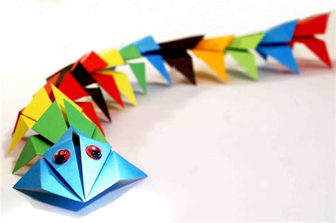Origami Child - paper craft for origami rigami for diy