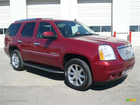 gmc yukon red image gallery red yukon