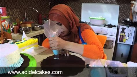 Spuit Wilton No 104 cara menghias cake dengan butter renda how to