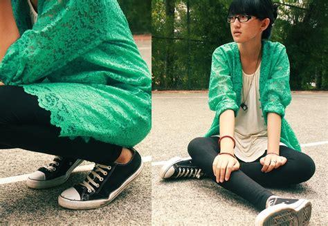 Converse Tosca by Yulia Wahyuningsih S Closet Tosca Green Kebaya