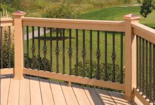 Decorative Deck Spindles 5 Types Of Decorative Deck Railings Salter Spiral Stair