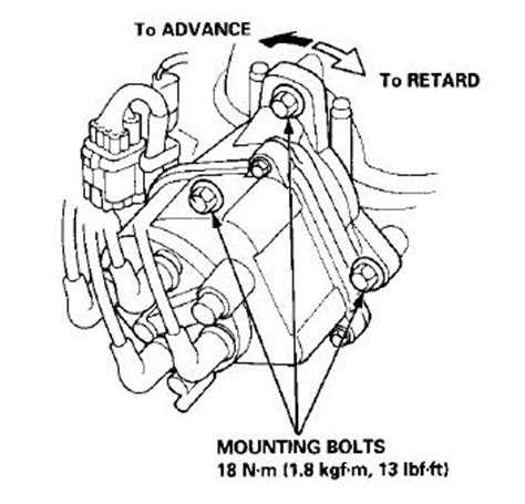 how to ignition timing for a distributor less 1999 acura rl engine how to convert to distributorless ignition