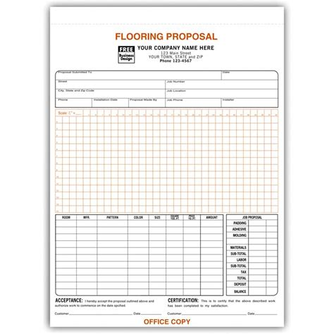 Flooring Invoice Template by Flooring Contractor Invoice Work Order Designsnprint
