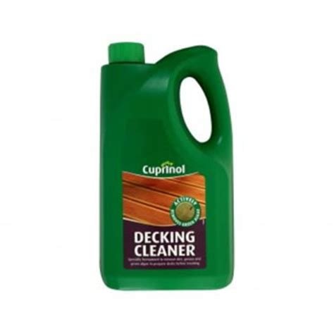 cuprinol decking cleaner | stewart timber