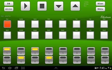 drum pattern apk electrum drum machine demo android apps on google play