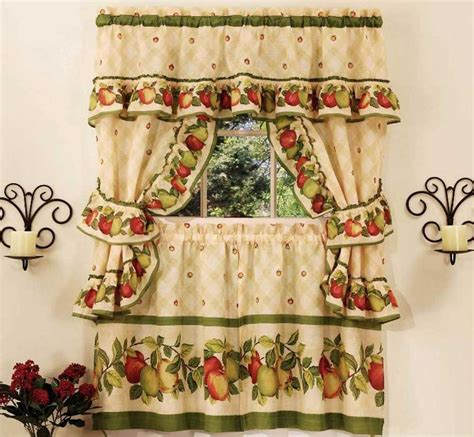fancy kitchen curtains kitchen window curtain ideas