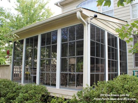 veranda windows screen porch windows create comfortable porch enclosures
