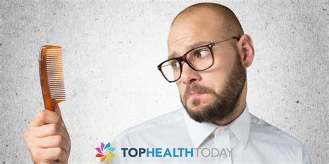 what percentage of men lose hair why do men lose their hair as they age top health today