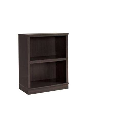 Sauder 2 Shelf Bookcase Sauder Homeplus Collection Dakota Oak 2 Shelf Bookcase With Hutch Discontinued 411593 The Home
