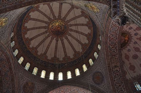 Blue Mosque Ceiling by Blue Mosque Ceiling Photo