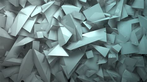 Origami Screen - triangle paper origami background center stock footage
