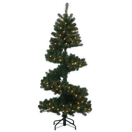 walmart pull up christmas tree 7 pre lit spiral pine artificial tree clear dura lit lights walmart