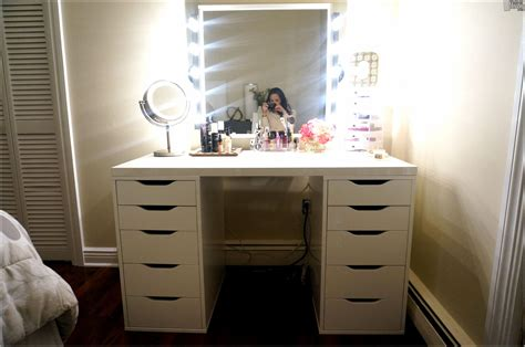 vanity with lighted mirror and bench vanity table with lighted mirror and bench hd home wallpaper